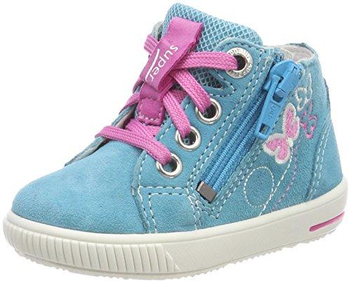 Superfit Baby Mdchen Moppy Sneaker, Trkis (Trkis Kombi), 27 EU