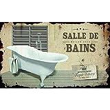 Plaque de Porte Salle de Bains Baignoire - Class Déco