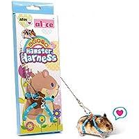 Hamster Harnais et laisse réglable, animal de petite taille Marche Vest Harnais Idéal pour rat Hamster, gerbille, Chinchilas et