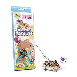 Dwarf Hamster Gerbil Rat Mouse Ferret Chinchillas Squirrel Pet Ferret Harness with Leashes Adjustable 51Q1ajPUUNL