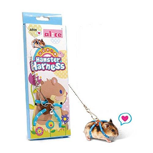Harnais et laisse réglable pour hamster avec gilet ,...