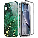 SURITCH Sruitch Compatible avec Coque iPhone XR Silicone 360 Degrés Protection...