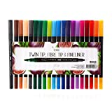 Sen.se Sense 10904 Artist Collection Fineliner Twin Tip, Multicolore, Taille Unique