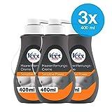 Enthaarungscreme Sensitive 3er Pack für Männer für schnelle und effektive Haarentfernung in nur 5-10 Minuten Veet Men Haarentfernungscreme 3x400ml