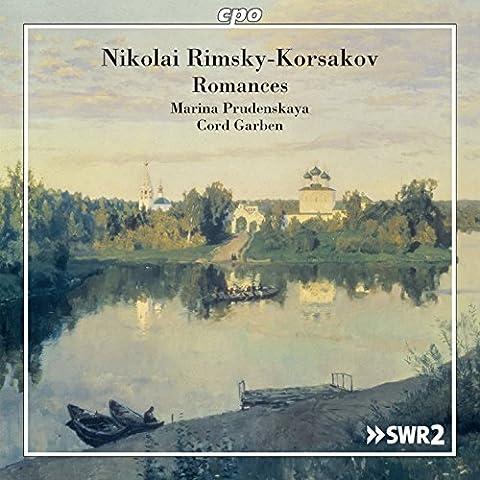 Rimsky-Korsakov: Romances [Marina Prudenskaya; Cord Garben] [Cpo: 777783-2]