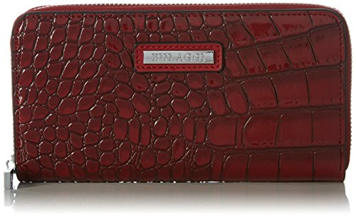 Bulaggi Damen Shadow Wallet Zip Around Geldbörse, Rot (Rot), 10 x 02 x 19 cm (Wallet Damen Zehn Zip-around)