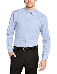 Tommy Hilfiger Tailored Herren Regular Fit Smoking Hemd JHN SHTCHK99002
