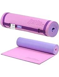 just be...® Esterilla Yoga - 180cm - Espuma de 10mm de grosor - Rosa/Morada