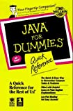 Java Api for Dummies: Quick Reference by Stephen D. Lockwood (1997-03-01)