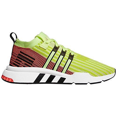 Adidas EQT Support Mid ADV B37436 Primeknit Verde/Rojo. Zapatillas Deportivas para Hombre