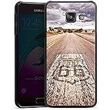 Samsung Galaxy A3 (2016) Housse Étui Protection Coque USA Biker Rue