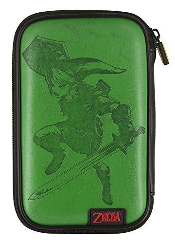 Offizielle Nintendo New 3DS und 2DS XL / 3DS XL – Tasche/Hülle | 4 Motive zur Auswahl | Schützt den Nintendo 3DS ; Motiv: Link Hellgrün