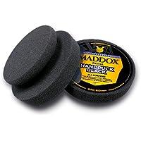 Maddox Detail - Handpuck Black All Purpose - Esponja. Disco Fino con Poca porosidad para limpiadores, Ceras o selladores en Superficies de Pintura y plástico.