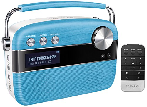 Saregama Carvaan SC01 Portable Digital Music Player (Electric Blue)