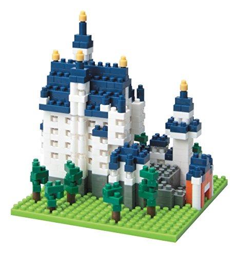 Preisvergleich Produktbild Nanoblock 13933 - Schloss Neuschwanstein 3D-Puzzle von Kawada bestehend aus über 550 Teilen