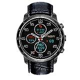 Bluelover Q7 Plus Android 5,1 3G-Anruf 512Mb Ram 8Gb Rom Herzfrequenz-Monitor Gps-Kamera Smart Watch - Schwarz