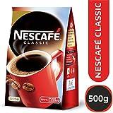 Nescafe Classic Coffee Powder, 500g pouch