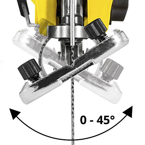 TROTEC Stichsäge PJSS 11-230V Pendelhubstichsäge inklusive Stichsägeblätter-Set Metall (10-teilig) - 5