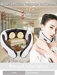 Pink Pari Cervical vertebra massager Impulse Treatment massage device Electric pulse Neck massager Acupoint magnetic therapy