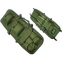 Tactical 85cm rifle francotirador Pack doble de nailon bolsa de funda de transporte pistola Airsoft caza od