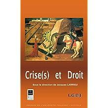 Crise(s) et droit (Les travaux de l'IFR t. 13) (French Edition)