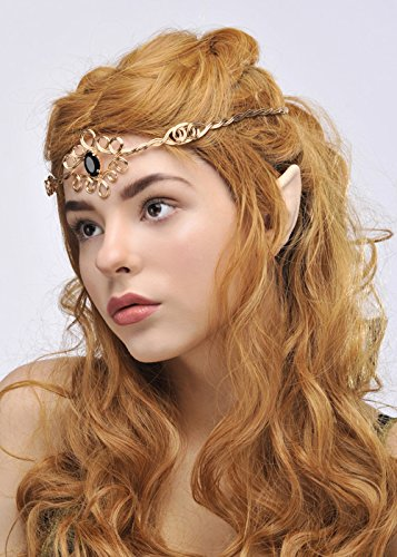 Womens Elf Princess Crown Headpiece