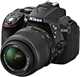 Nikon D5300 Digital SLR Camera with 18-55mm VR Lens Kit - Black (24.2 MP) 3.2 inch LCD with Wi-Fi and GPS (discontinued by manufacturer)
