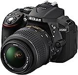Nikon D5300 SLR-Digitalkamera (24,2 Megapixel, 8,1 cm (3,2 Zoll) LCD-Display, Full HD, HDMI, WiFi, GPS, AF-System mit 39 Messfeldern) Kit inkl. AF-S DX 18-55 VR Objektiv schwarz