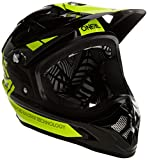 O'Neal Backflip RL2bungarra Fahrrad Helm, Schwarz (Black/Hi-Vis), M (57–58cm)