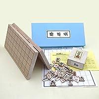 Set von Push-und ausgezeichnete Schachfigur Schachbrett gebrochen Nr. 6 shogi setzen neue Per?cke (Japan-Import)