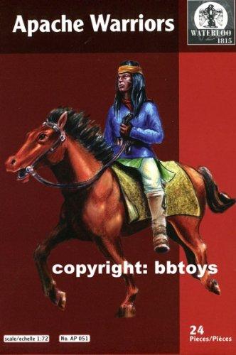 WATERLOO 1815 AP051 - Apache Warriors