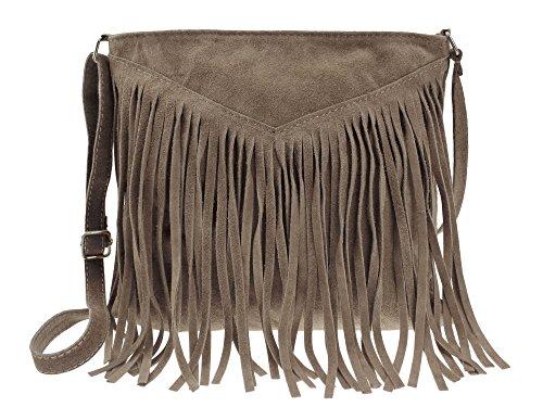 bag2basics Simplicity, Borsa a tracolla donna taglia unica Talpa