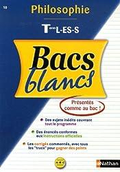 Bacs blancs ABC philosophie terminales L-ES-S N10