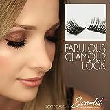 Magnetische Secret Wimpern, Ultradünn, Wiederverwendbar (Scarlet Magnetic Eyelashes) - Fabulous Glamour Look