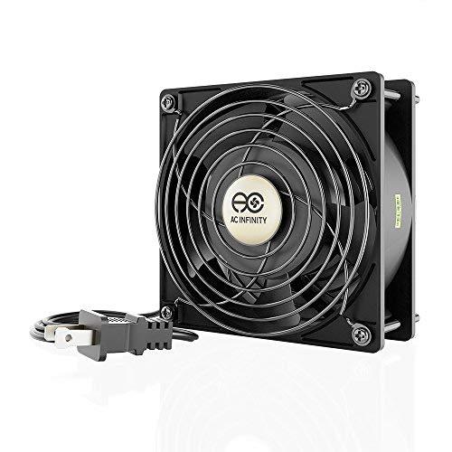 AC Infinity AXIAL LS1238 leiser Muffin-Lüfter, 120 V AC 120 mm x 38 mm, niedrige Geschwindigkeit, für DIY Kühlung, Abluftprojekte -