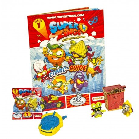 Magic Box - Superzings 092013603. Pack de principiante