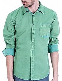 Unnati - Camisa Estampada sobretintada