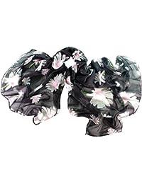 Immerschön leichtes Tuch in vielen Motiven und Farben Schal Pareo Wickeltuch Stola