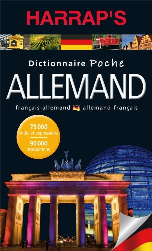 Dictionnaire poche français-allemand allemand-français