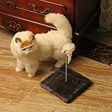 Kaxima 3 Platform Cat Tree Scratching Post Activity Centre Cat rack Cat Toy sisal Cat Scratch Board cat grab column cat platform 20 * 20cm