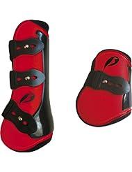 Polainas y protege conjunto-Bolas NORTON competición 11 colores, 3 tamaños rojo Talla:Pur-sang