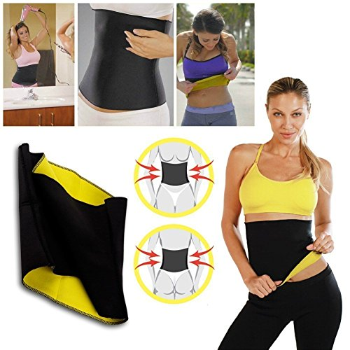 Collectrio Waist Trimmer Belt for Men and Women Look Slim Instantly Double Strength Belt Tummy Trimmer
