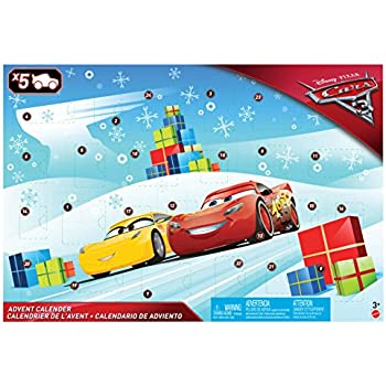 Disney Cars 3 FGV14 Calendario dell'Avvento