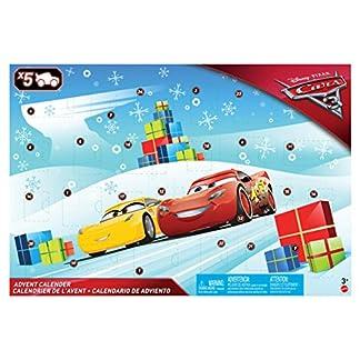 Cars 3- Calendario de Adviento (Mattel FGV14)