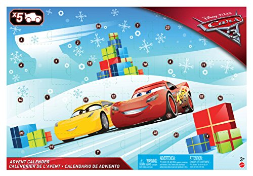 Cars 3 Calendario de Adviento (Mattel Spain FGV14)
