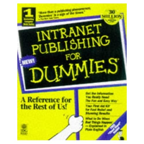 Intranet Publishing For Dummies by Glenn (1997-09-29)