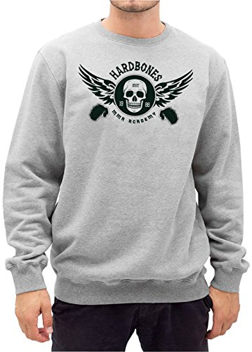 Hardbones Gym Sweater Grigio Certified Freak-L