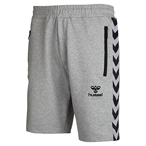 Hummel Herren Classic Bee Aage Shorts, Grey Melange, XXXL, 10-810-2006