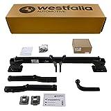 Westfalia Starre Anhängerkupplung für GLK X204 (BJ 07/09 bis 09/15) im Set mit 13-poligem fahrzeugspezifischen Elektrosatz
