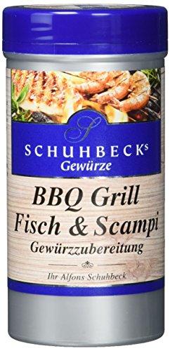 Schuhbecks BBQ Grill Fisch und Scampi, 3er Pack (3 x 100 g) (Fisch Bbq)
